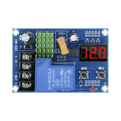 DC 6-60V lead-acid Battery Charge Controller Protection Board Switch 12V 24V 48V
