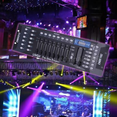 192 Channels DMX512 Controller Console for Stage Light Party DJ Disco KTV Party