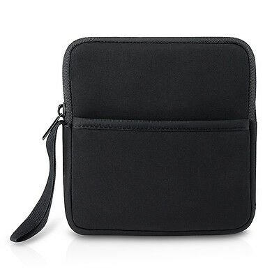 External Hard Drive Protective Case Bag Shock-absorbing Bubbles with Side Pocket
