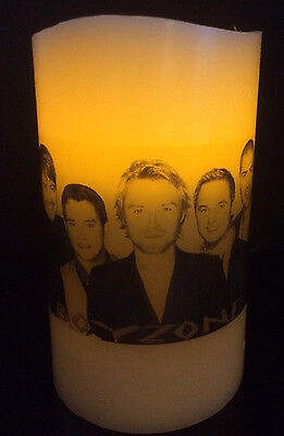 BOYZONE ELECTRONIC FLAMELESS FLICKERING CANDLE Ronan Keating