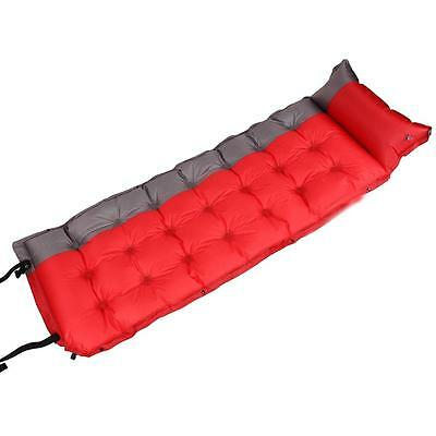Self Inflating Sleeping Pad Mattress Mat Outdoor Camping Sleep Bed Mat Pillows