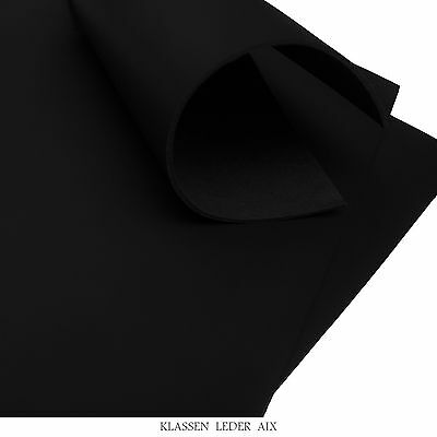 Buffalo Leather Black 2,4 mm Thick A3 Format Croupon Cowhide LARP 172