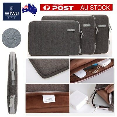 "Gearmax British Woolen Laptop Sleeve Bag For 11""13""15"" MACBOOK HP DELL ACER ASUS"