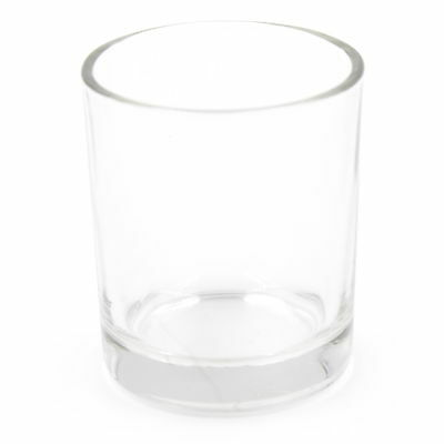 Beautiful Simple Clear Glass Tea Light Votive Holders Wedding Table Party