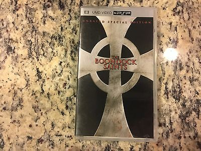 The Boondock Saints Unrated Special Edition Widescreen Like New Umd Video Psp!
