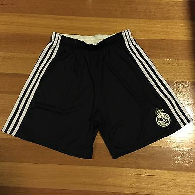 Genuine  REAL MADRID 2014/2015 Soccer Third Shorts By Yamamoto- Size Men's Small