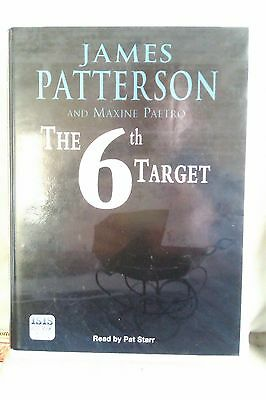 The 6th Target by James Patterson: Unabridged Cassette Audiobook (EE3)