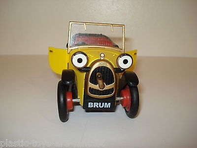 BRUM The wibbly wobbly FRICTION POWERED Car GOLDEN BEAR TV 2001 VGC