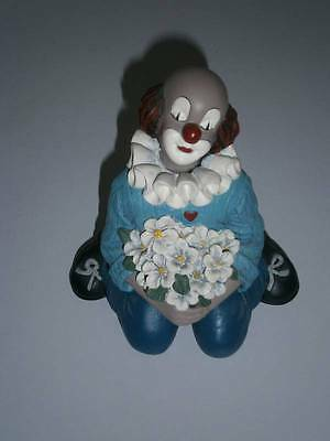 Gilde Clown - Comedy Collection - Träum mit Blumen - 13 cm