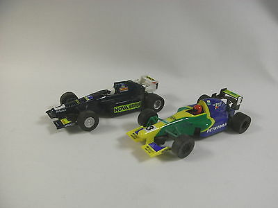 Two Vintage Scalextric / Hornby Hobbies Slot Car Racing Cars