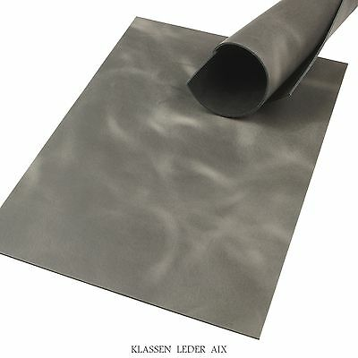 Buffalo Leather Gray Soft Pull-Up 2,5 mm A3 Format Cowhide Croupon 135