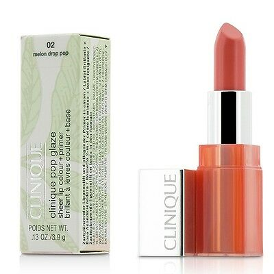 NEW Clinique Pop Glaze Sheer Lip Colour + Primer  - # 02 Melon Drop Pop 3.9g