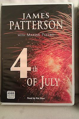 4th of July by James Patterson: Unabridged Cassette Audiobook (MM2)