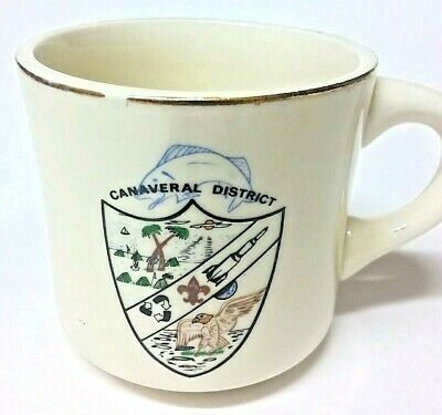 Boy Scouts Mug Canaveral District Boyscouts Cup BSA
