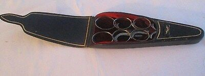 Vintage Mappin and Webb Scissor Set in Leather Case