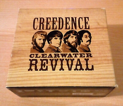 CREEDENCE CLEARWATER REVIVAL –  Box Set   6 × CD, Compilation - 2001 GERMANY