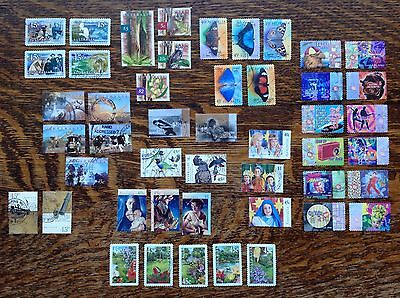 Collection Of Australia Stamp Sets Used
