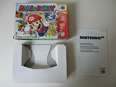 Mario Party Nintendo 64 N64 NTSC US Box only nur OVP