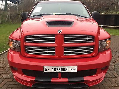 Dodge Ram SRT-10 Viper V10 8.3 Red Double Cabin 2005 LHD