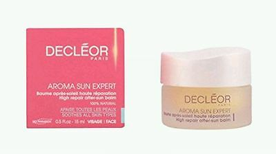 DECLÉOR Aroma Sun Expert High Repair After Sun Face Skin Balm 15ml 100% Natrual