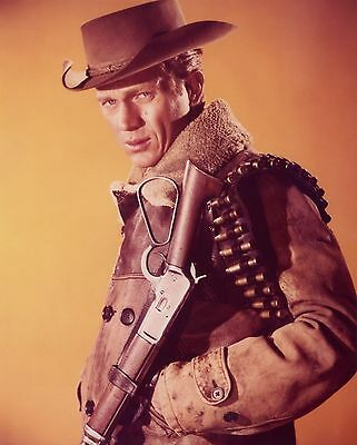 """""""Wanted : Dead or Alive"""" 8x10 * Steve McQueen * FREE US SHIPPING"""