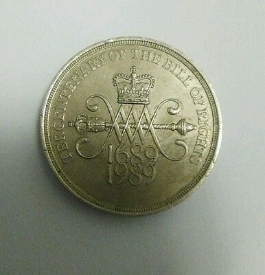 The Centenary Of The Bill Of Rights 2 Pound Coin
