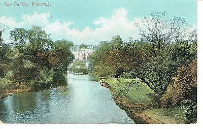 "PPC of "" THe Castle , Warwick  "" Posted 1905"