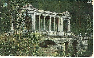 "PPC of "" The Palladin Bridge , Prior Park   "" Posted 1910"
