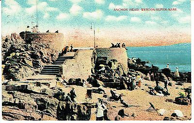 "PPC of "" Anchor Head , Weston-super Mare "" posted ? 1919"
