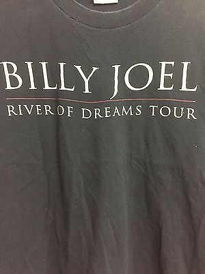 Billy Joel Concert Tshirt, Original 1993-94 - Rare Crew Shirt