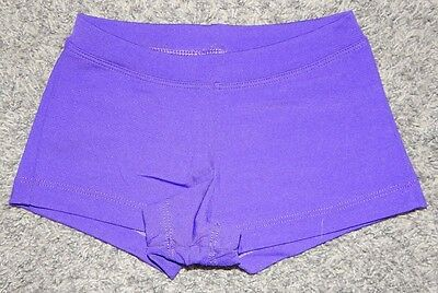 Youth Size Xl--Capezio Brand Purple Dance Booty Shorts--Excellent