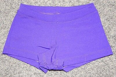 Youth Size Xs--Capezio Brand Purple Dance Booty Shorts--Excellent