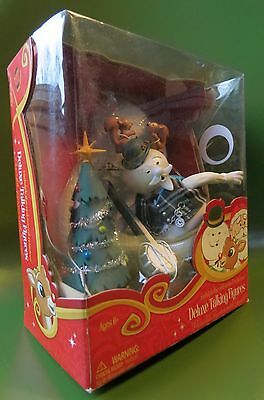 New Rudolph The Red Nosed Reindeer Deluxe Sam The Snowman Figure With Sound
