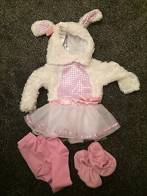 Little Lamb Girls Costume. Size 12-18 Month
