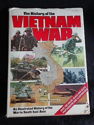 The History of the VIETNAM WAR by Charles T Kamps Jr Hardcover Book 1988