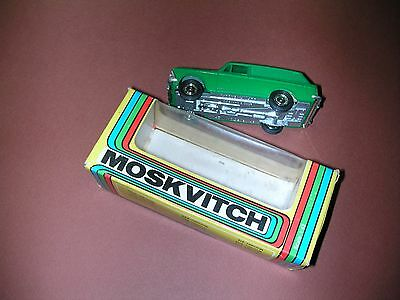 Moskvitch Russian 1/43 Model With Original Box
