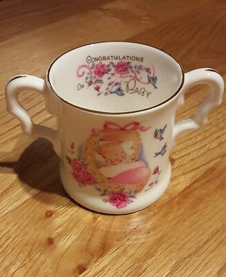 lovely baby girl china gift cup