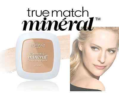 """L'Oreal Paris True Match Mineral Pressed Powder, """"Choose Your Shade"""""""