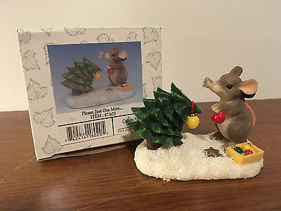 Charming Tails Please, Just One More Figurine 87/625 NIB