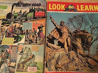 Look and Learn Bound Comic Magazine 1962