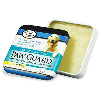 Four Paws Paw Guard with Lanolin Protects & restores Moisture to Pads1.75oz Tin