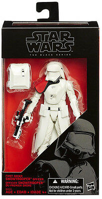 STAR WARS The Black Series_First Order SNOWTROOPER Officer 6 inch figure_New_MIB