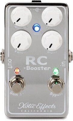NEW Xotic RC Booster V2 Guitar Effects Pedal
