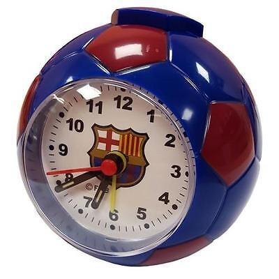 F.C. Barcelona Football Alarm Clock - Colour Choice - OFFICIAL LICENSED PRODUCT