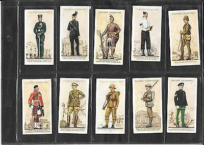 Player's - Uniforms Of The Teritorial Army  - 1939  - 10 Nice Cards