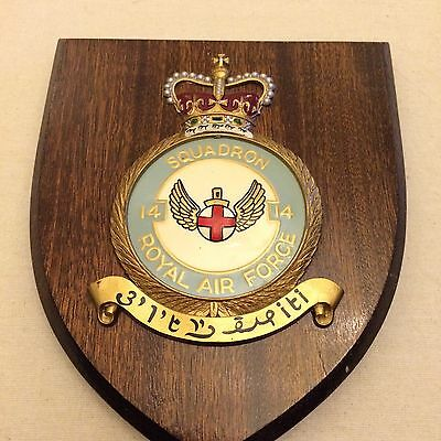 14 Squadron Royal Air Force plaque shield RAF Bruggen Wildenrath Germany