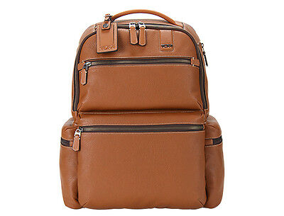 Tumi, sac à dos en cuir, leather backpack, brand new, neuf, valeur 645€