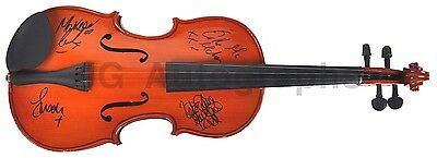 Celtic Woman - Irish Music Group - Autographed Violin - Signed by 4