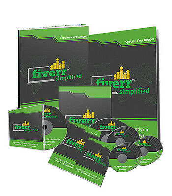 Start Online Business From Home Making Money Online Fiverr Simplified on CD