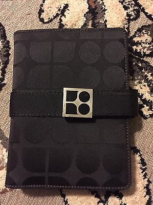 Vintage Signature Kate Spade Canvas Organizer Wallet Diary Planner Address Book